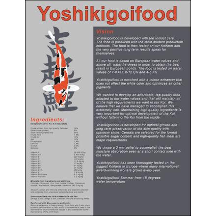 Yoshikigoi nyári táp 5 kg