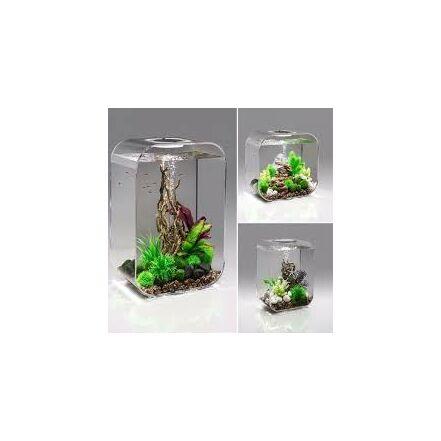 biOrb LIFE 45 MCR (színes világítás) átlátszó design akvárium szett