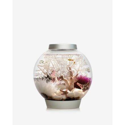 biOrb Classic 15 ezüst design akvárium szett színes világítással (MCR)