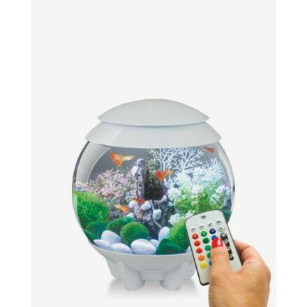 biOrb HALO 15 ezüst design akvárium szett színes világítással (MCR)